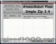 AtomicRobot Plain Simple Zip screenshot